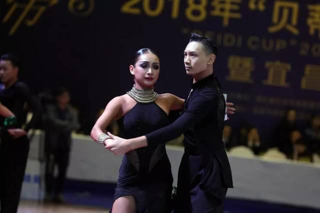 """2018年""""贝蒂杯""""湖北体育舞蹈公开赛宜昌站落幕"""