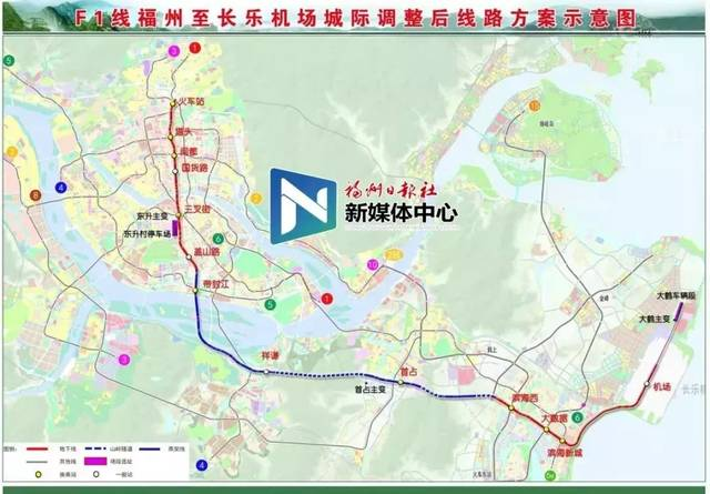 长乐区未来规划图