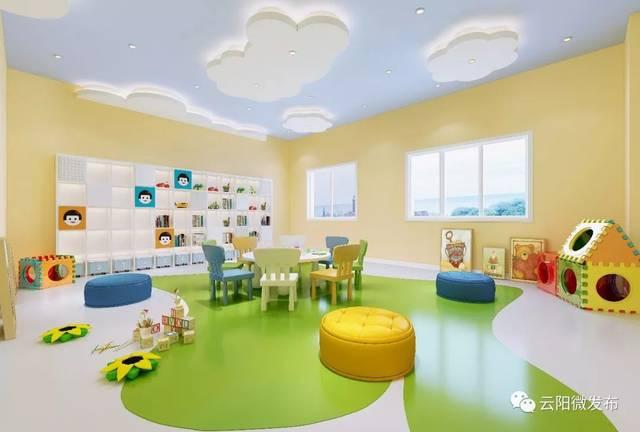 童活动室_儿童活动室效果图