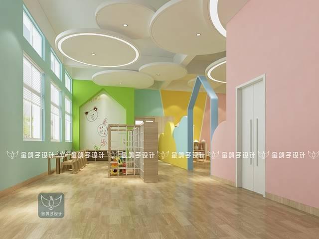 南宁阳光幼儿园烘焙教室设计效果图