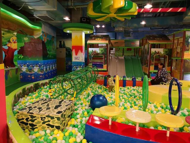 清远奇幻森林儿童乐园,多种游乐设施,周末溜娃好去处!