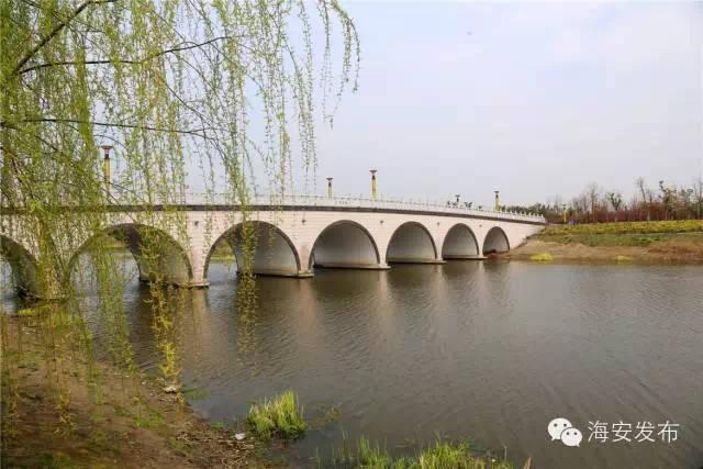 (以上图片 许丛军丨摄) 东洲公园位于海安城区东北角,占地四十多万