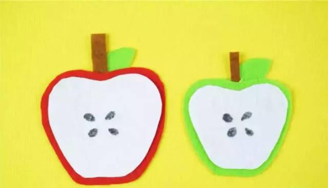 【冬季手工】当下最应景手工是啥嘞?大红苹果,红苹果