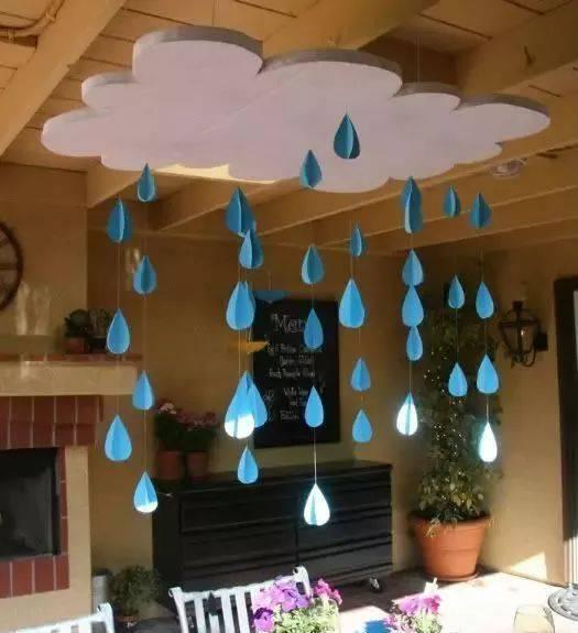 那就在家里自己手工制作一个风铃吊饰,挂在阳台上或者教室里,听一听
