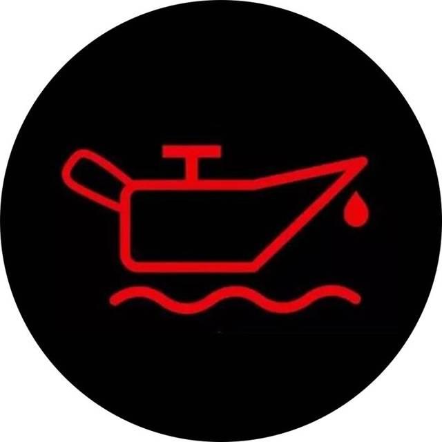 机油警报灯亮起,可能是机油压力传感器故障,发生的短路导致警报灯亮
