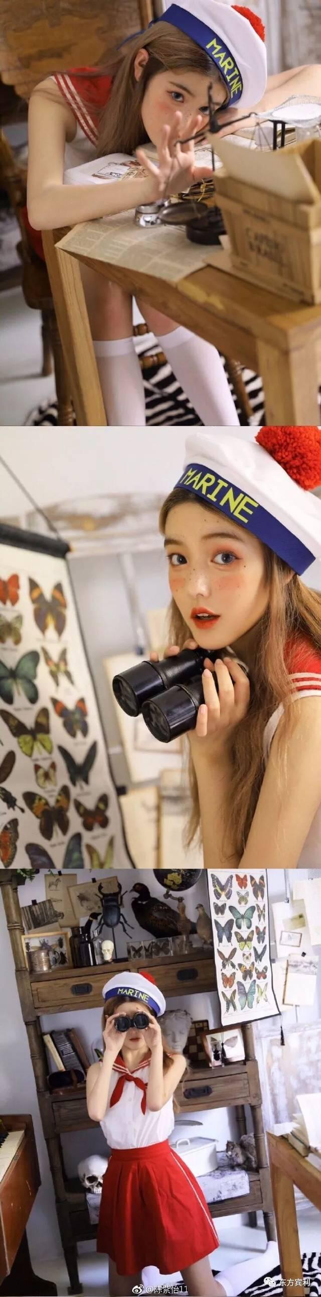 """▽ 而荣获冠军的16岁""""美少女"""" 陈紫怡, 不仅能歌善舞, 还是 国家一级"""
