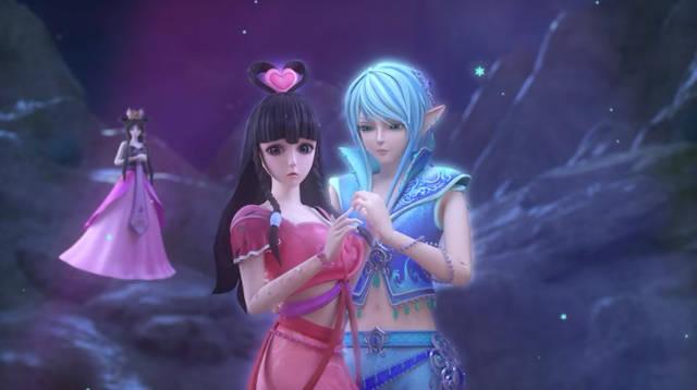 叶罗丽:王默带辛灵前往仙境,唯一能救她的不是灵公主图片