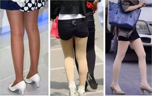 所以 隐形的打底袜绝对是每年秋冬必备 然而,市面上很多肉色打底袜一