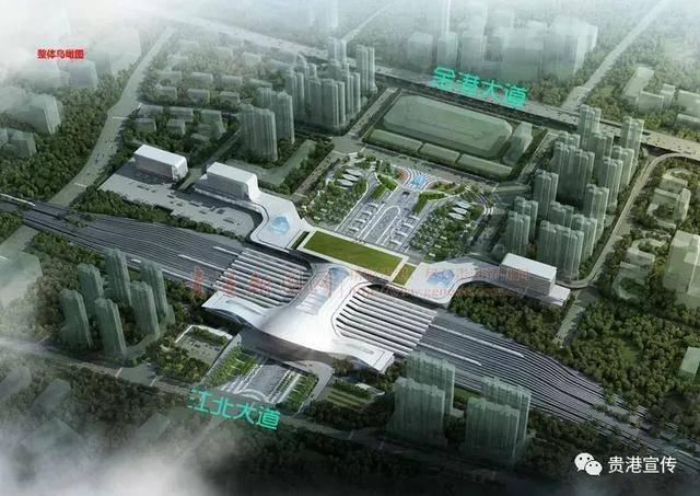 (实景图拍于2018年3月) 根据规划,贵港旧火车站及其广场将纳入整体