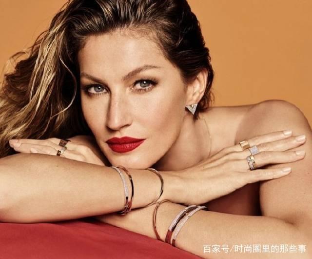 巴西国宝级超模吉娘娘最新珠宝大片,完美驾驭大红,娘娘威武霸气