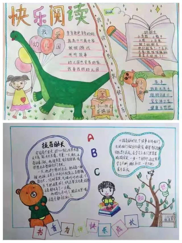 通过此次的创意阅读简报设计,既激发了孩子们的制作愿望,创造灵感图片