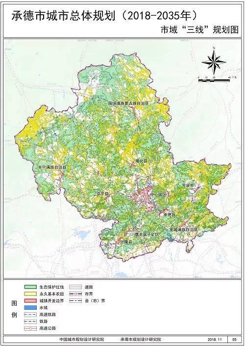 承德市最新总体规划出炉!未来市区人口超百万!每个县区都有大变化!