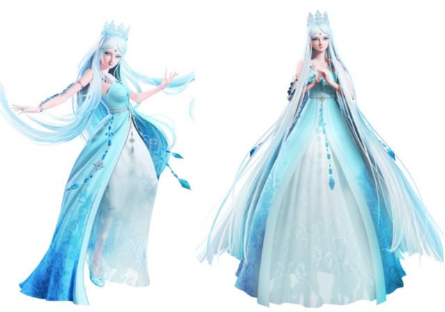 当6位叶罗丽主角穿上新衣服,孔雀仙子看起很性感,冰公主变胖胖图片