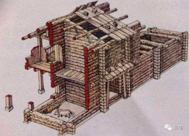 古建屋顶平面图ps素材