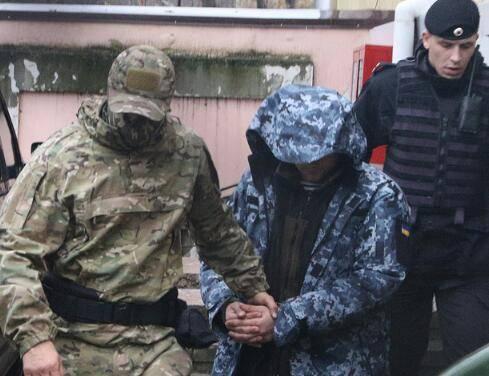 11月25日,俄罗斯在刻赤海峡扣押3艘强闯其领海的乌克兰军舰与24名船员