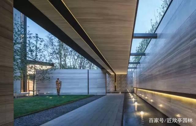 苏州新中式古典园林设计cdr线绘制角图片