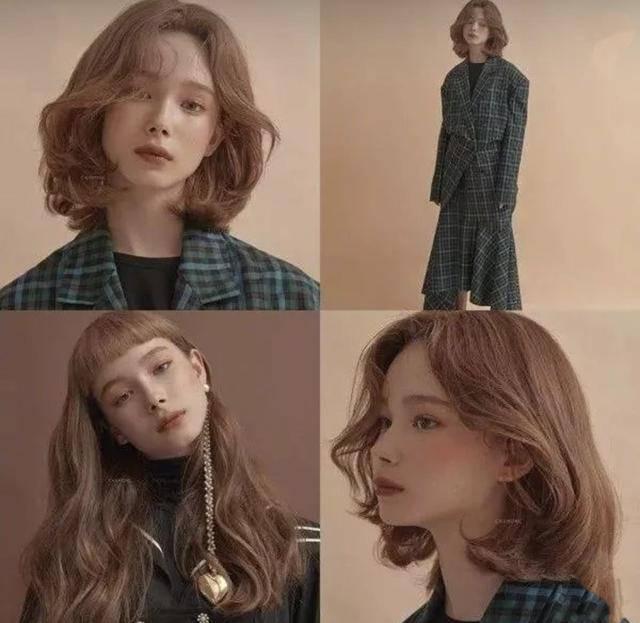 2019年会很流行的一种发型,很适合长发的女生,在头发里加入这种另类