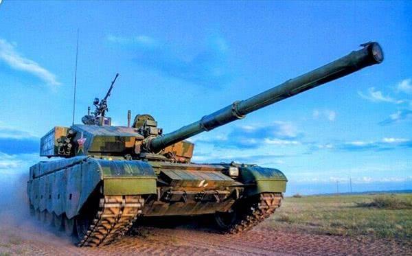 99a主战坦克已经接近60吨