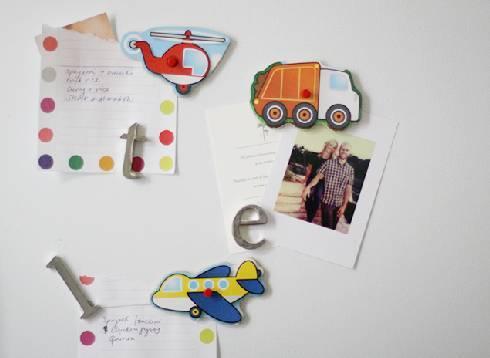 冰箱卡通贴纸手工制作,适合孩子的手工