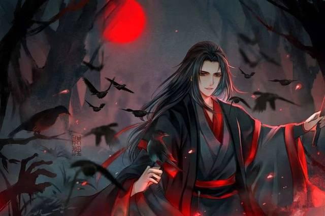 成为夷陵老祖的魏无羡虽然是邪派中人,被大家都当成大魔头,但他行的
