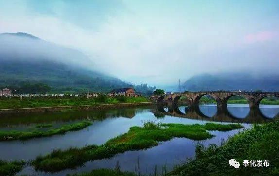 奉化大堰五洞桥景区被评为国家级3a旅游景区