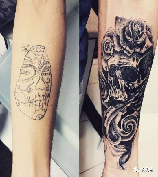 如何给失败纹身做暴力遮盖?