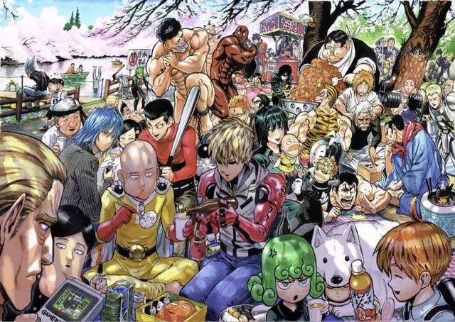 一拳超人漫画_赏樱集合绘,_在线漫画阅读_极速漫画