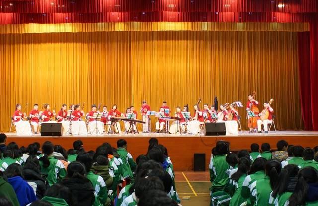 民乐盛宴!广东民族乐团在从化六中隆重开演
