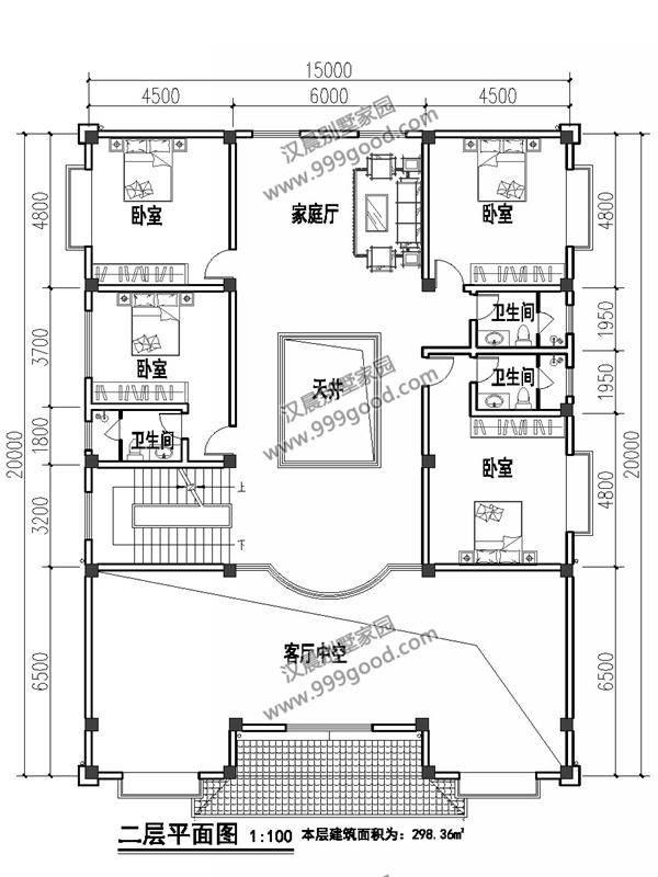 什么样房子适合农村?3栋中式农村别墅设计图,展现未来图片