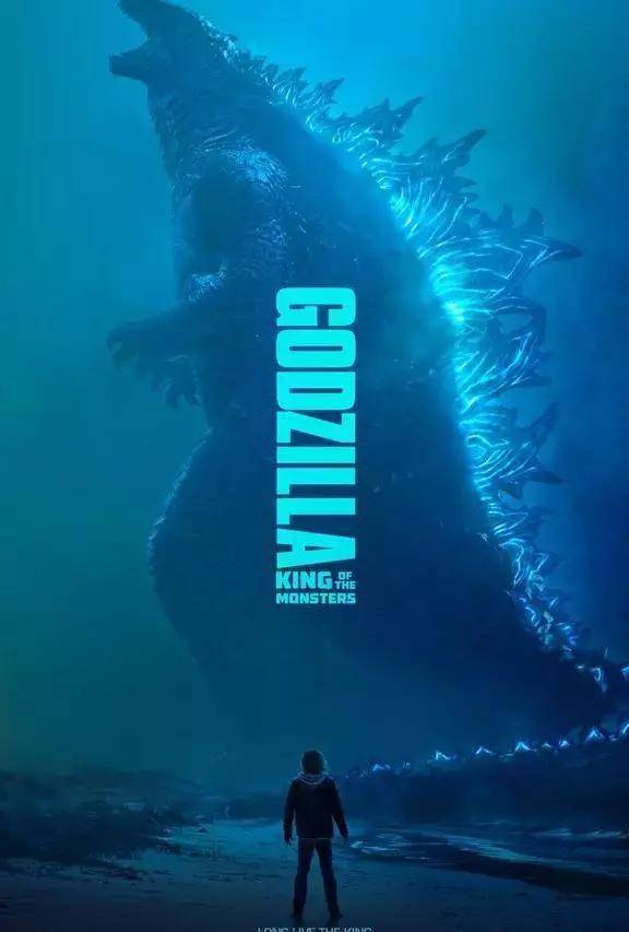 《哥斯拉2:怪獸之王》首曝高清怪獸海報,4大怪獸齊現身