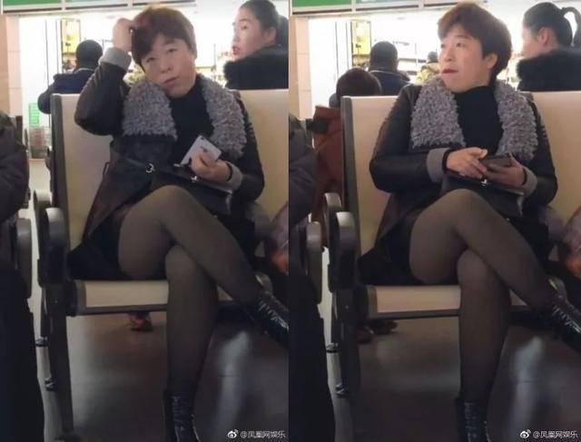 丝袜老师_我画着精致的妆,穿着丝袜和带绒皮衣,你们居然说我是丑帅?