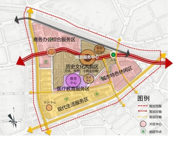 《东关大连街历史地区街区周边城市设计》平面设计用u2518d图片