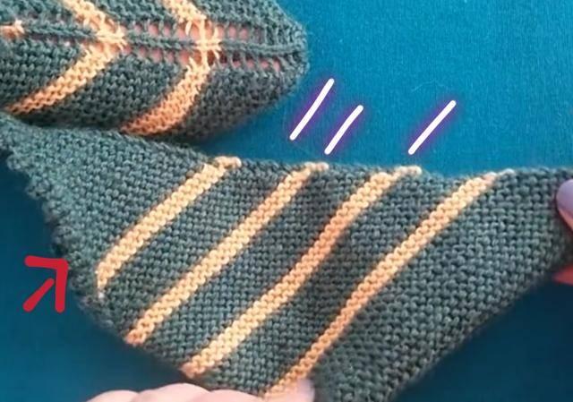 漂亮的毛线地板袜编织,方法简单易学,赶快照着织一双