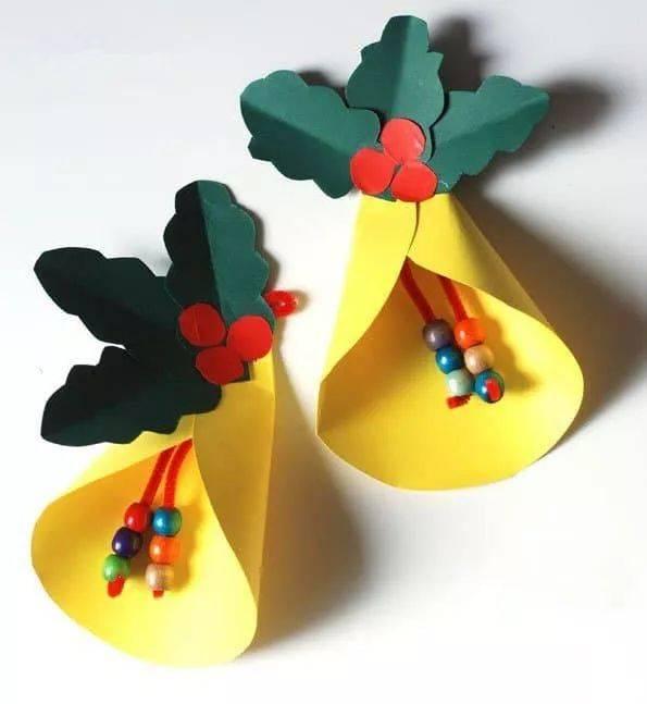 幼儿园圣诞节创意手工大全,简单好看!