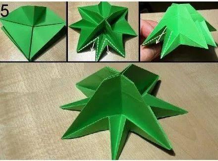 圣诞树手工早早安排!跟唐老鸭一起学折纸|创意生活