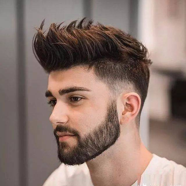 """男人不爱""""两边剪短""""了?2018至2019年流行男士发型图片"""