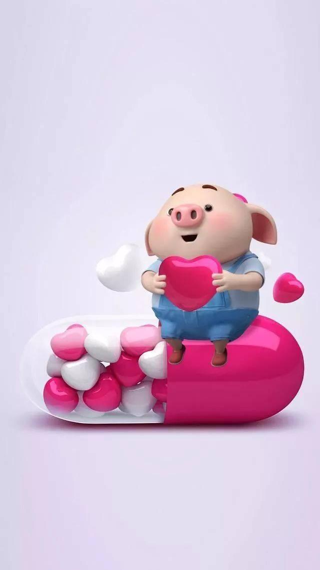 2019最新款壁纸,小猪猪送福,请查收!