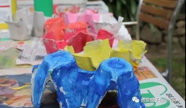 16种鸡蛋托手工制作方法教程-儿童废物利用手工