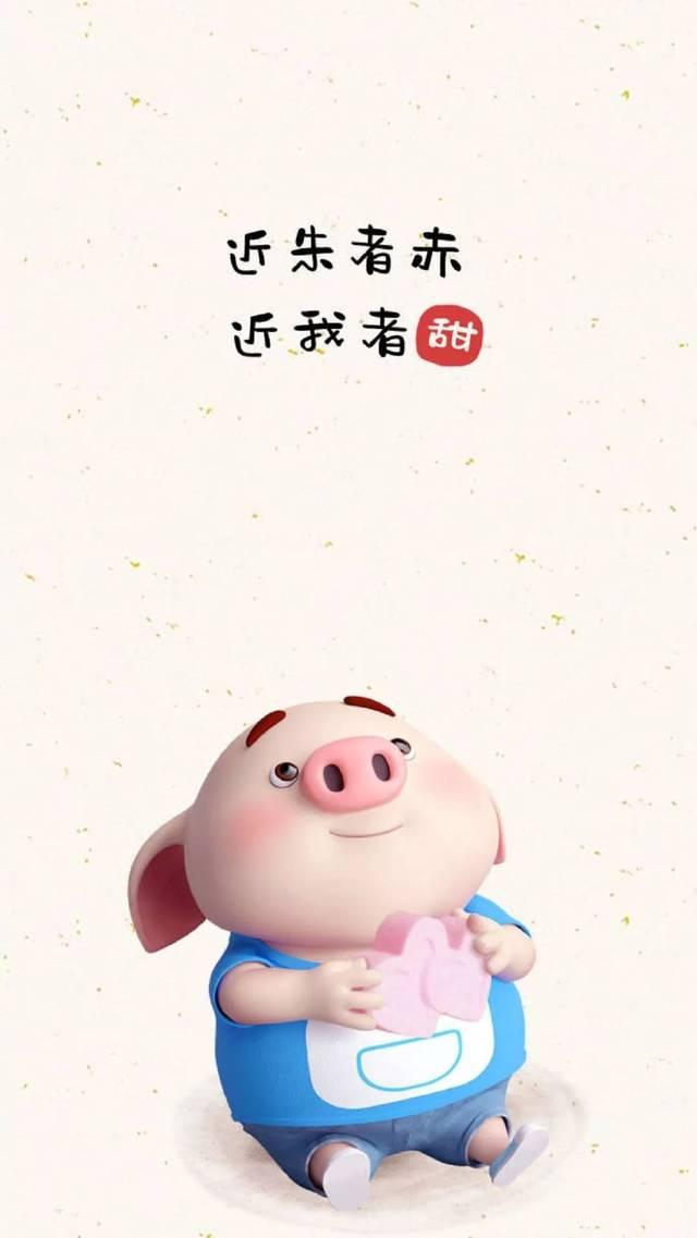 福利:2019可爱小猪壁纸