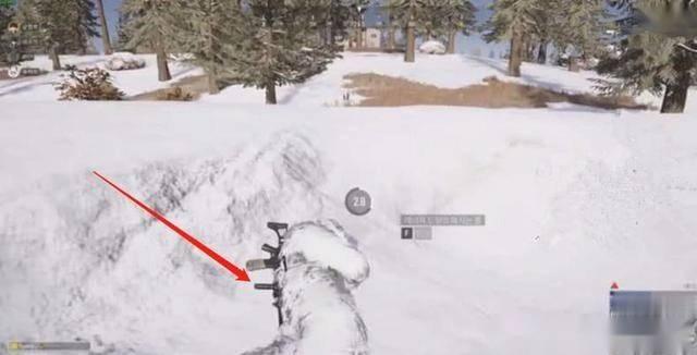 絕地求生刺激戰場:新地圖雪地吉利服什么樣?玩家表示圖片
