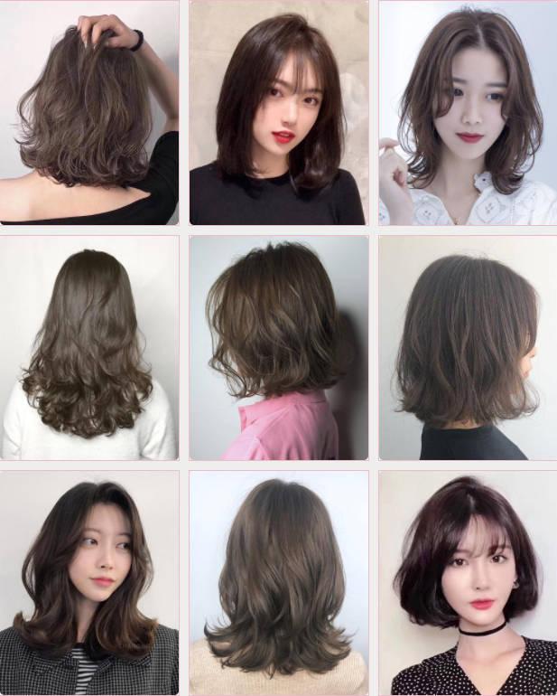再不烫发就要到2019年了想换新发型的你从这99款选吧!图片