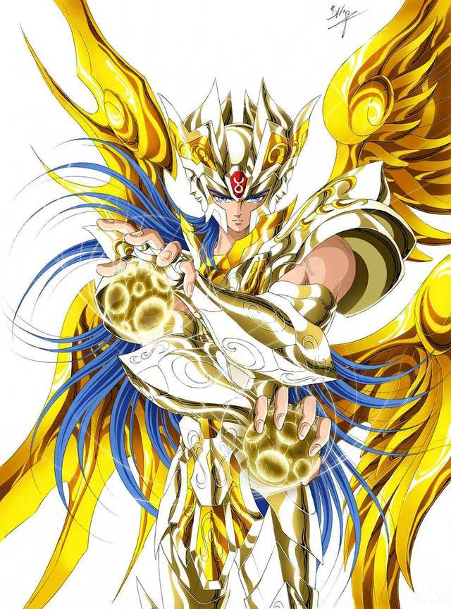 黄金拼�_圣斗士:谁都明白此时的撒加,无论如何都没有与黄金拼斗的实力了