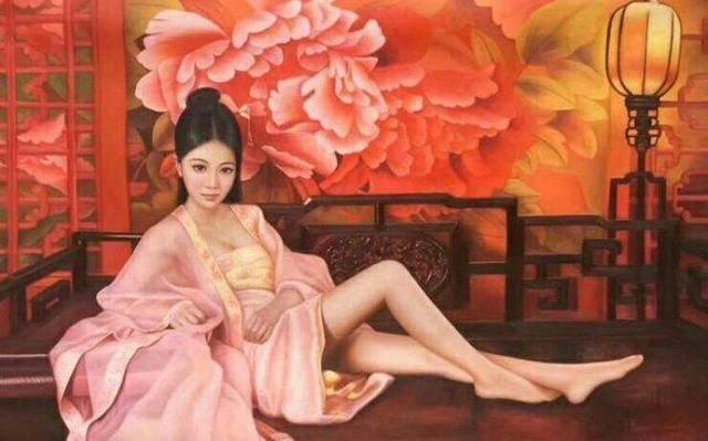 妹妹大胆人体艺术照片_艺术家人体油画中的东方美女,美到令人心碎的人间尤物
