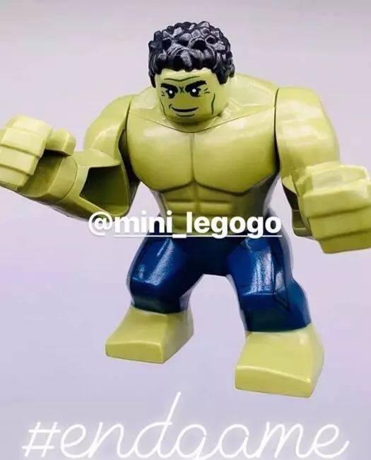 《复联4》乐高玩具又剧透?绿巨人失去了经典的愤怒表情