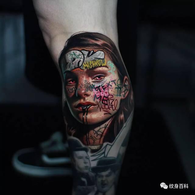 纹肖像的时候,越接近人物最真实的样子越好,但是今天的这些人像纹身