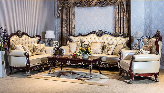 """2019客厅沙发流行趋势 有""""皮""""气的沙发图片"""