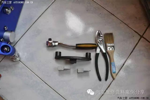 这个是后座曲轴:自动变速箱飞轮工具锁止工具t10036一个,1.保时捷911如何拆除关键图片
