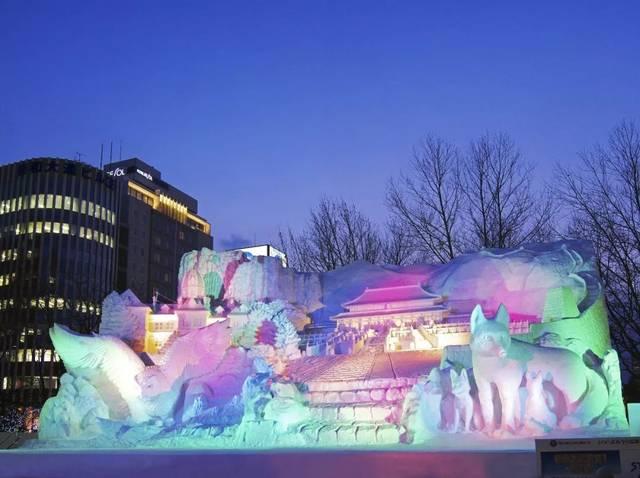 北海道-冬编:札幌雪祭り图片
