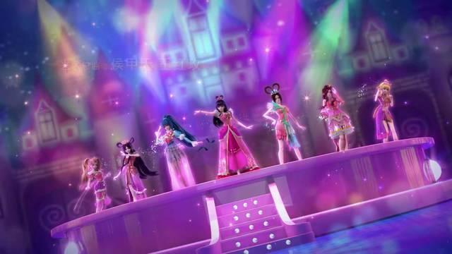 叶罗丽第七季:仙子们要换新衣了,浪漫粉色款来袭!图片