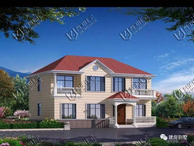 两栋四开间独立的车库自建房,第二栋带别墅和设计农村厨房租借图片